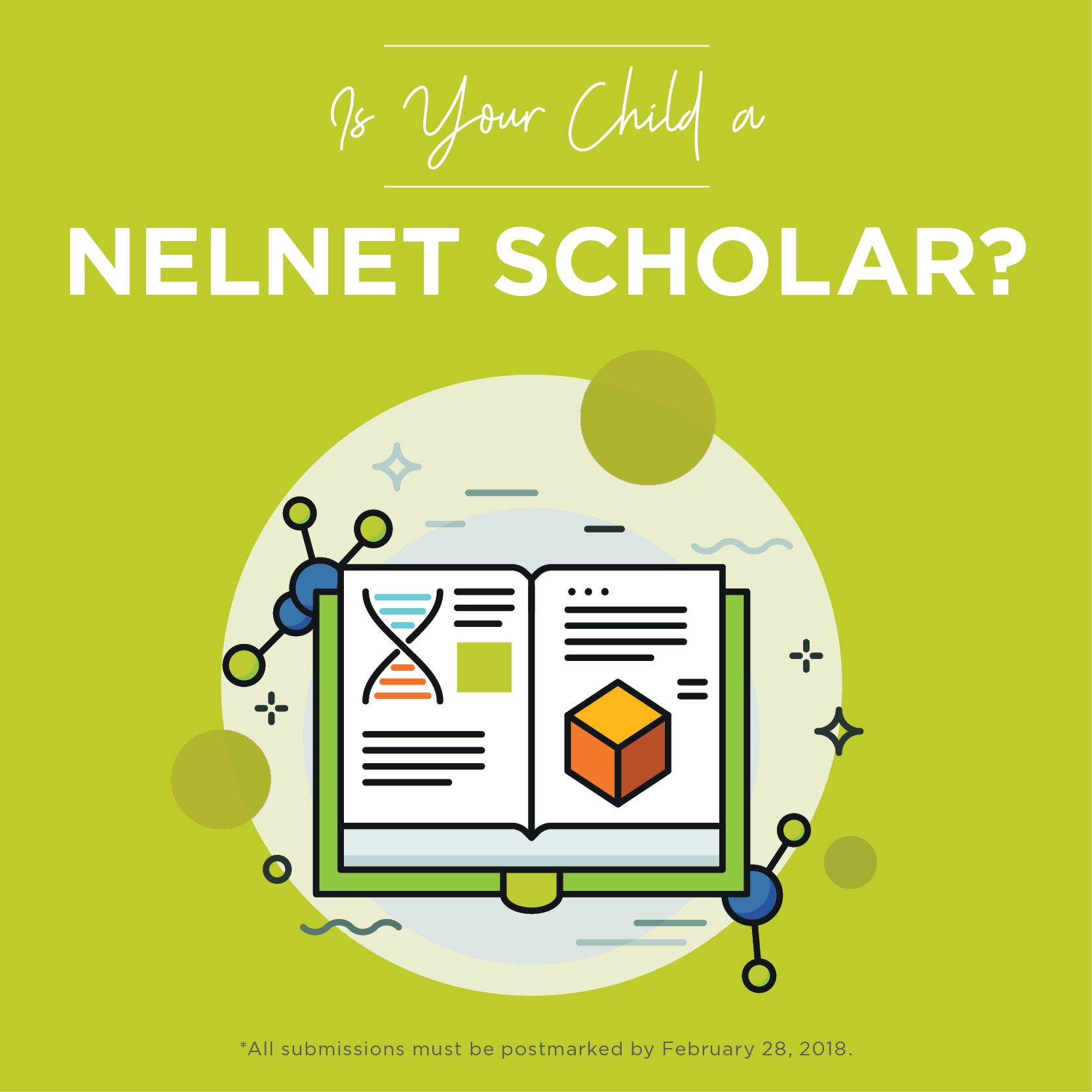 Nelnet Scholars Program Graphic