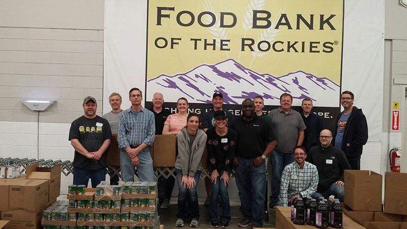 Nelnet Food Bank of the Rockies volunteers service day