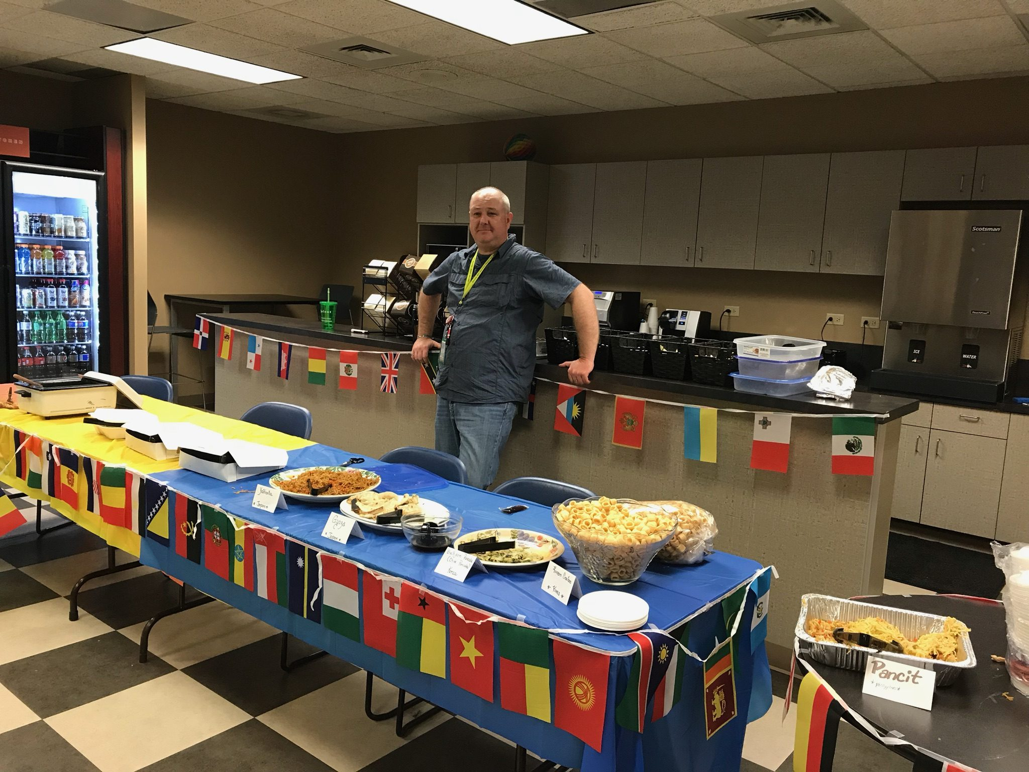 Nelnet associates celebrate diversity through food