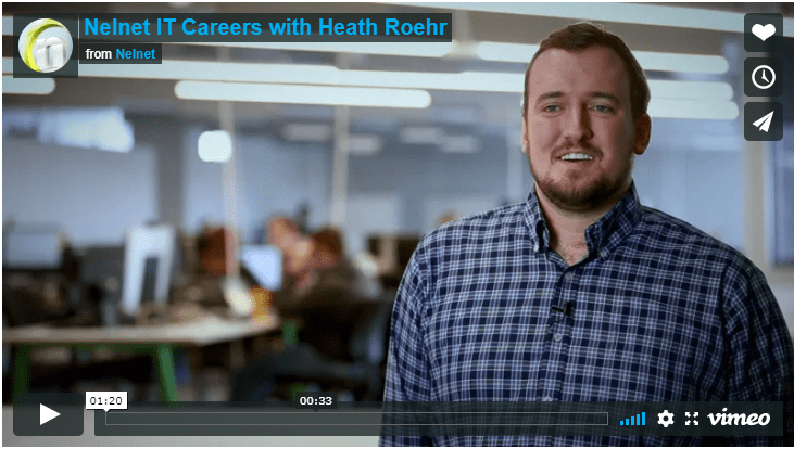 Nelnet IT Careers with Heath Roehr